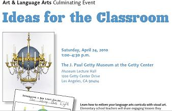 Art & Language Arts 10th Annual Culminating Event