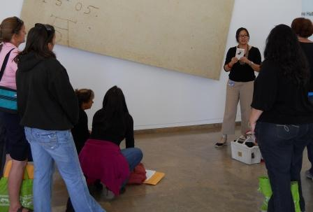 Gallery teacher and artist Audrey Chan discusses a 16th century drawing of a beetle that inspired contemporary artist John Baldessari.