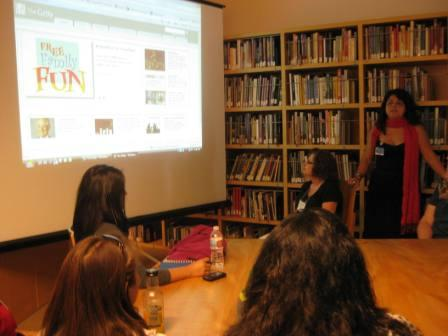 In the Education Resource Center, museum educator Sandy Rodriguez gives an overview of the Getty's online resources for K-12 teachers.