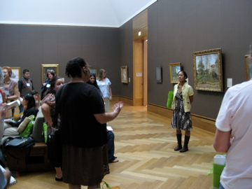 Teachers share how their experiences of an artwork changed since the first day of the seminar. They returned to the work with more knowledge about art history, a deeper understanding of composition, and a greater appreciation for art!