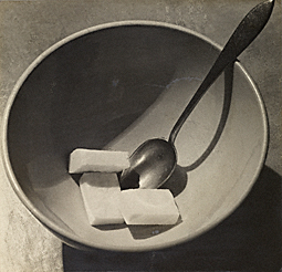 Bowl with Sugar Cubes / Kertsz