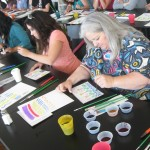 Participants were invited to create works of art that evoked their favorite celebrations.