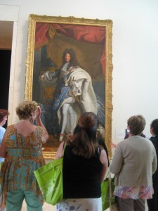 A painting of Louis XIV!