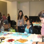 Educator Alice Jackel led a decorative arts activity called &quot;If These Walls Could Growl.&quot;