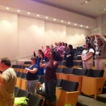 Participants were encouraged to create a rectangle in the air with their fingers to denote a self-portrait.