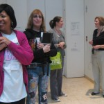 After a lively tour led by curator Elizabeth Morrison, teachers were excited to learn more about the art of illuminated manuscripts.