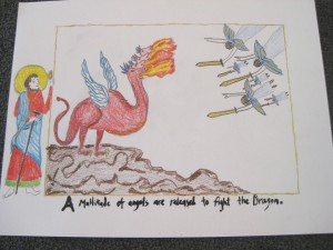Teachers of grades 3-5 viewed images in the Getty Apocalypse and were asked to imagine what would happen next.