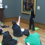 A painting by John Everett Millais sparked a lively discussion about what is going on in the picture. What IS going on in the picture anyway?