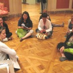 Museum educator Kelly Williams explains a writing activity that teachers can do with our decorative arts collection.