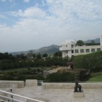 Ah! It's another beautiful day at the Getty Center.