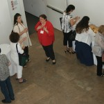 Participants enjoyed our reception of baked brie, lemon bars, and lemonade.