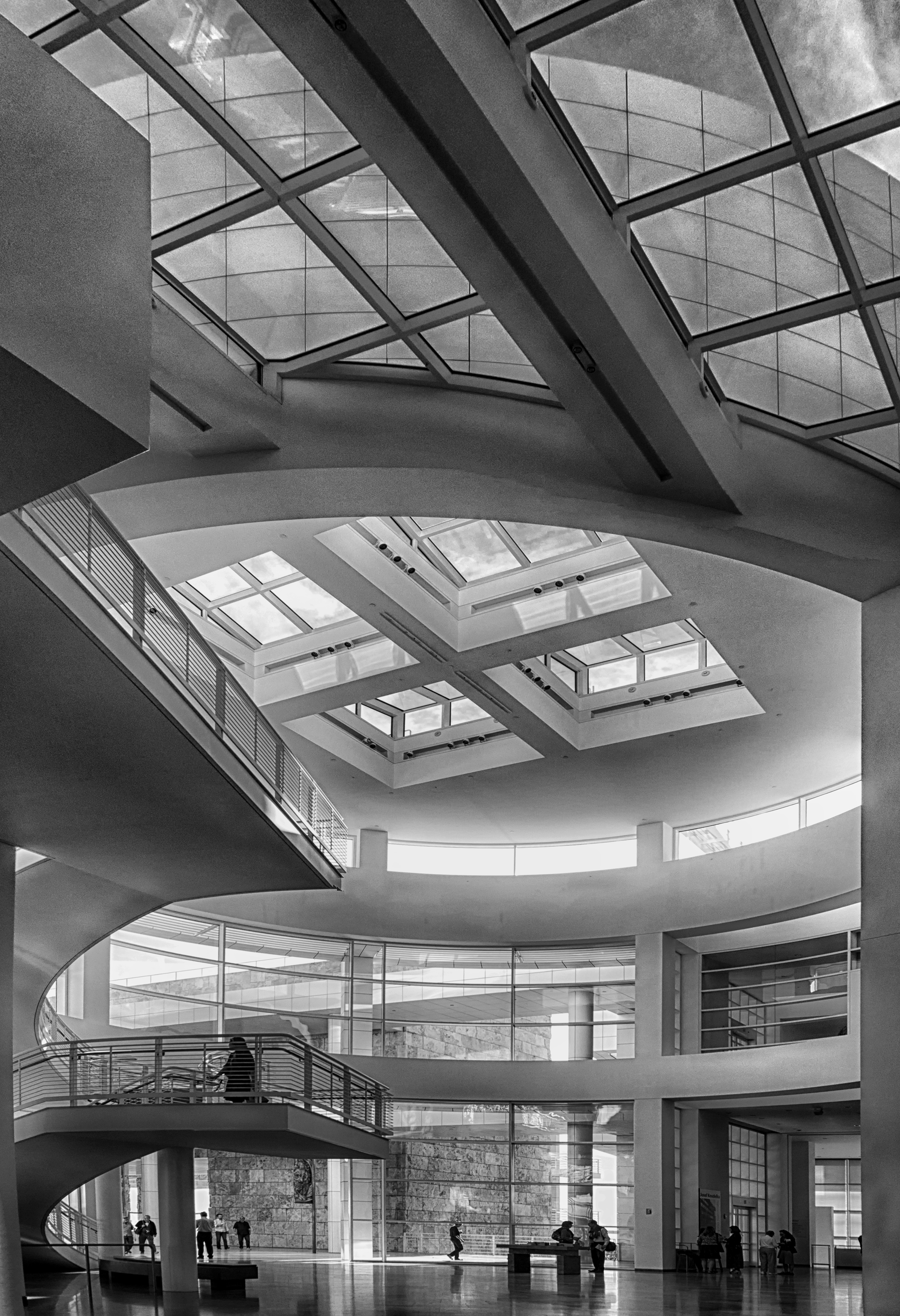Getty Center Entrance Hall