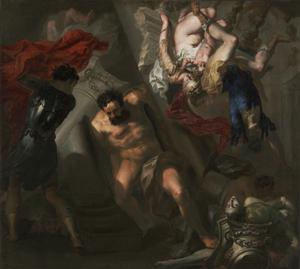 The Death of Samson