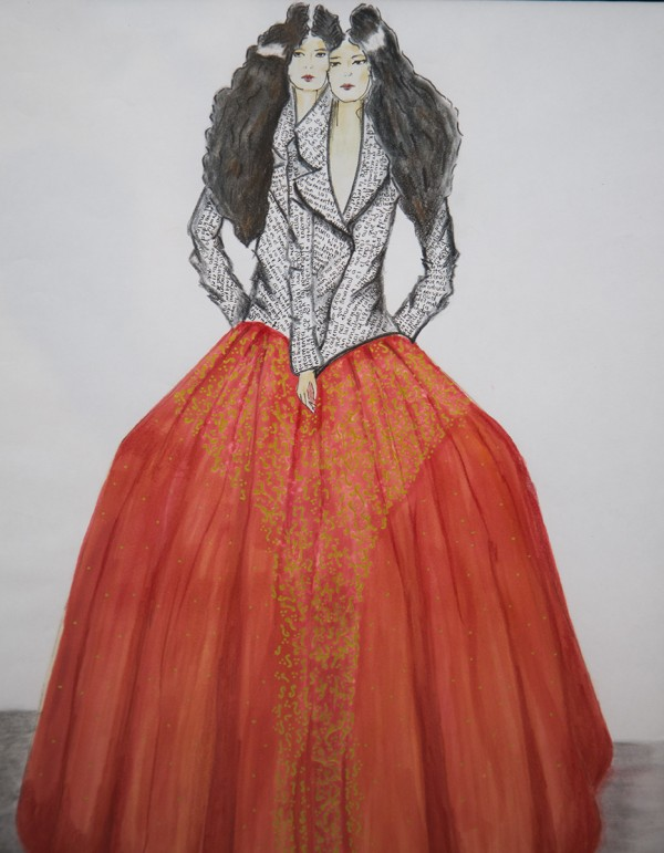 Fashion design by Monica Velazca