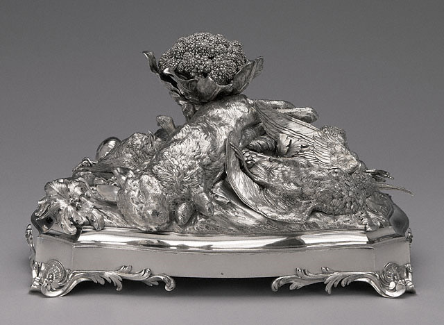 La Machine D'Argent, François-Thomas Germain, French, 1754