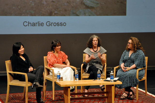 Charlie Grosso, Maite Gomez-Rejon, and Evan Kleiman