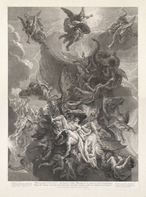 Fall of the Rebel Angels, Alex I Loir after Charles Le Brun