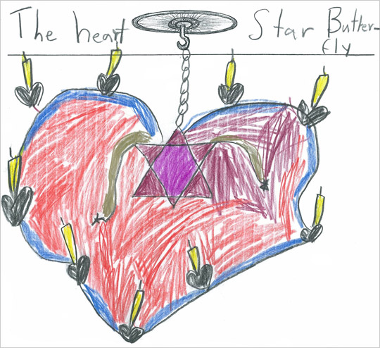 "Natalie Glassman's ""The Heart Star Butterfly"""