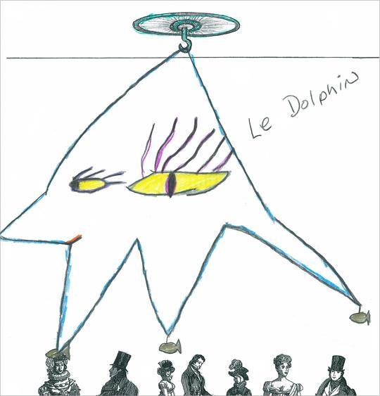 """Susan Glassman's """"Le Dolphin"""""""
