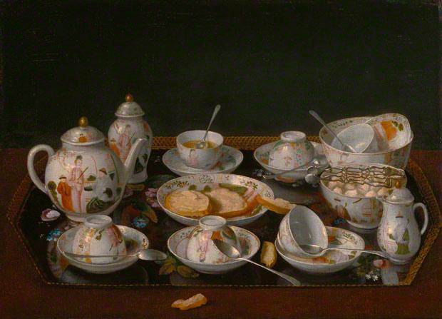 Still Life: Tea Set / Jean-Étienne Liotard