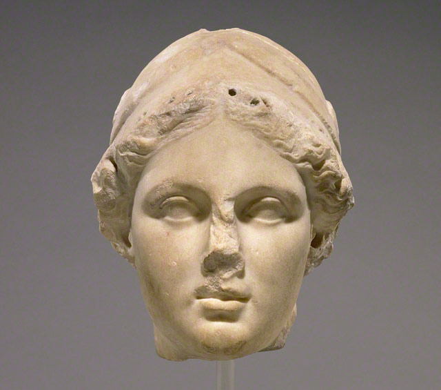 Head of Athena / Greek