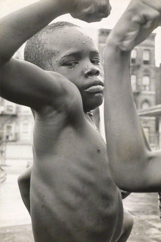 <i>New York City</i> from <i>Black and White in America</i> Leonard Freed, 1963.  © Leonard Freed / Magnum Photos, Inc.