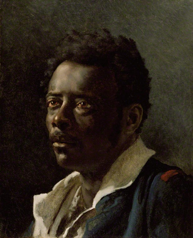 Portrait Study for The Raft of the Medusa, Thodore Gricault, 1818&#8211;19