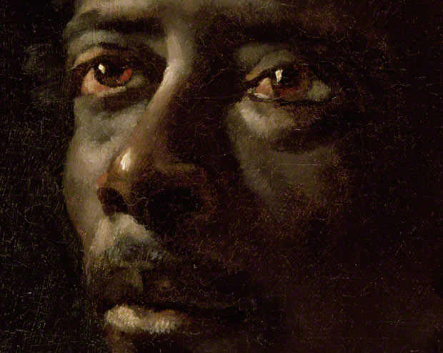 Portrait Study for Raft of the Medusa (detail) / Théodore Géricault
