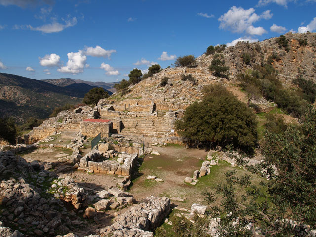 Theater of Lato, Crete