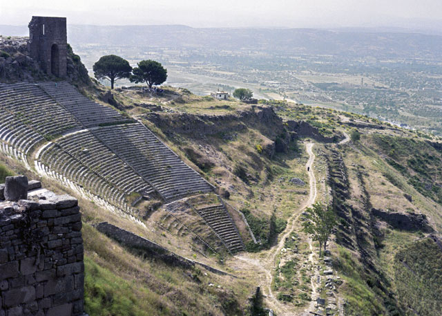 Theater of Pergamon, in present-day Turkey