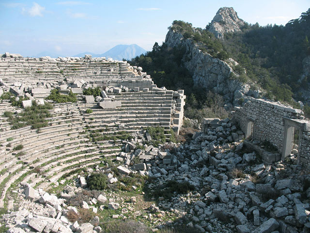 Theater of Termessos, in present-day Turkey