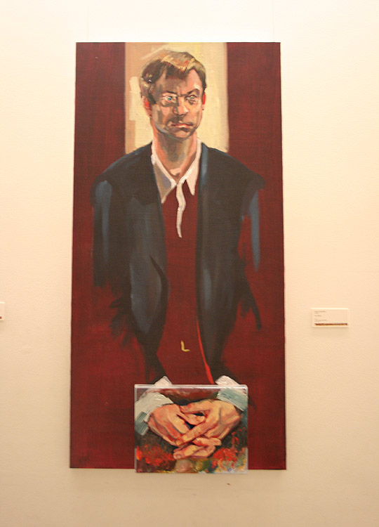 <em>Dr. Mack</em> by Zhenya Gershman, oil on canvas