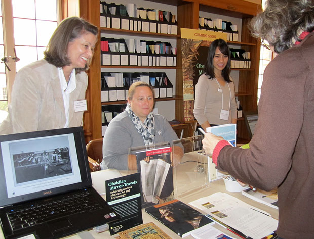 GRI staff at the Archives Bazaar