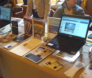 GRI booth at the Archives Bazaar