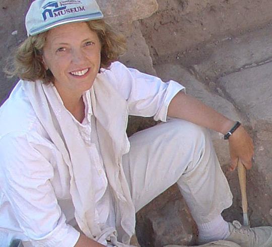 Garden archaeologist Kathryn Gleason