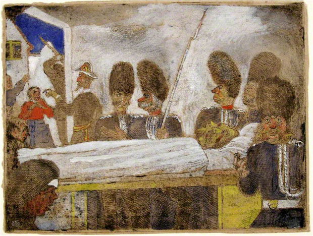 &lt;em&gt;Les Gendarmes&lt;/em&gt;, James Ensor