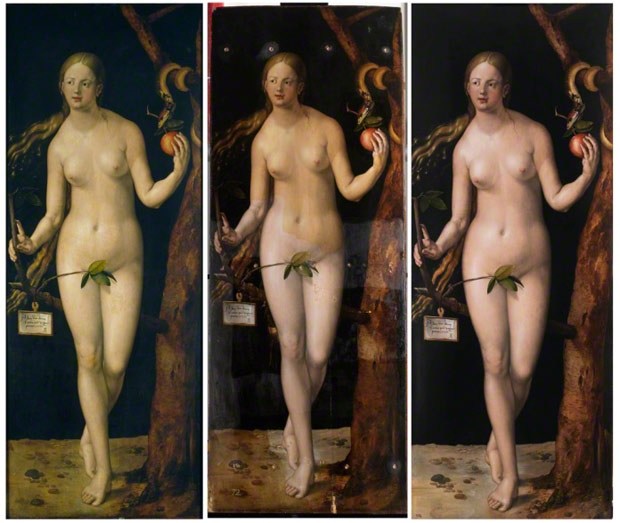 Dürer's <em>Eve</em> before, during, and after conservation