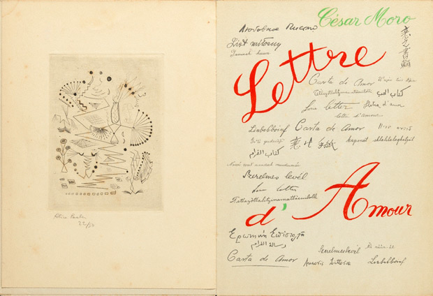 &lt;em&gt;Lettre de amor&lt;/em&gt;, Cesar Moro