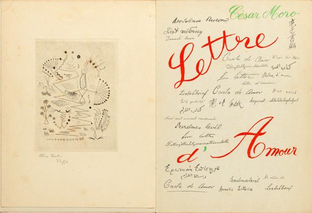 <em>Lettre de amor</em>, Cesar Moro