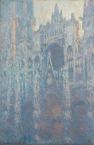 <em>The Portal of Rouen Cathedral in Morning Light</em>, Claude Monet, 1894