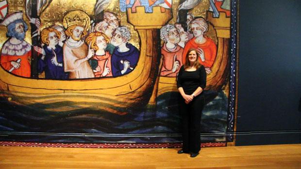 "The ""real"" Beth: curator of manuscripts Elizabeth Morrison"