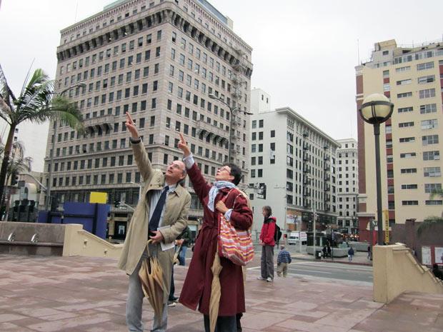 Scholars explore downtown L.A. and Walt Disney Concert Hall