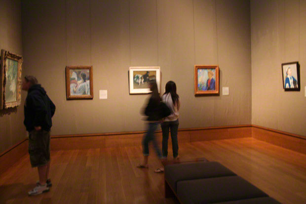 Gallery S206 in the South Pavilion at the Getty Center