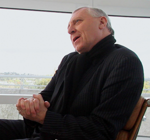 Peter Greenaway at the Getty Center