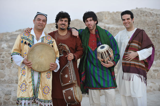 Sounds and Rhythms of Afghanistan. From left: