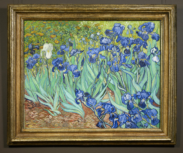 Van Gogh's Irises / Haiku Verses from Readers / An
