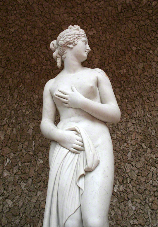 The Touch Statue at the Getty Villa