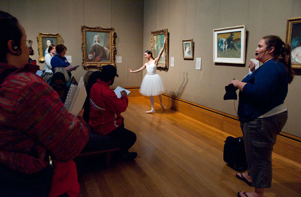 Dancing with Degas: New Curriculum Brings Art and Movement into the Classroom