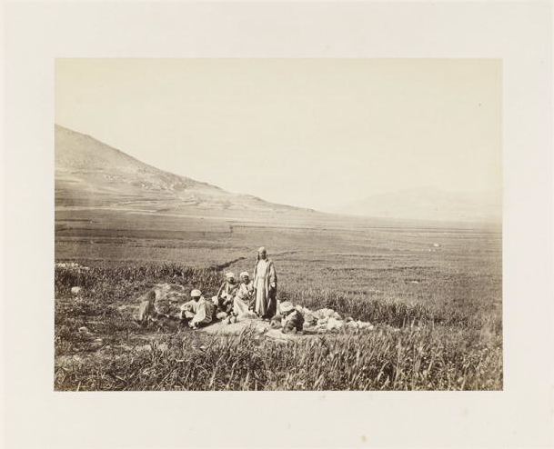 <em>Jacob's Well, near Shechem</em>, Frank Mason Good (English, 1839–1928), 1860s. Albumen print, 6 1/8 x 8 1/8 in.