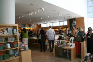 Newly renovated Museum Store at the Getty Center
